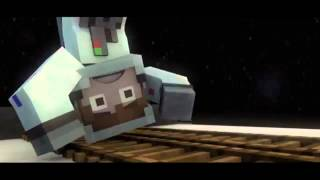 Minecraft Parody THE INTERVIEW Minecraft Animation Most - Minecraft npc hauser