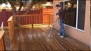 How to Properly Pressure Wash a Deck (2018)