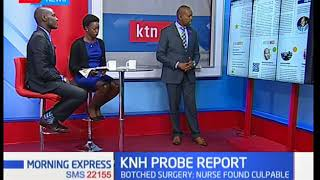 KMPDB hands over KNH probe report