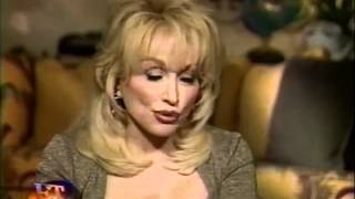 Dolly on ET promoting Hungry Again