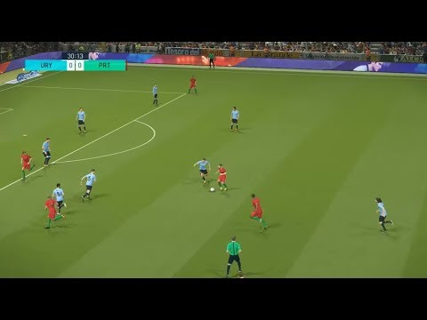 [HD] Uruguay vs Portugal | Match Coupe du Monde 2018 FIFA | 30 Juin 2018 | PES 2018
