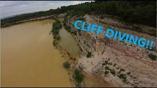 CLIFF DIVING! | FPV FREESTYLE | 4K