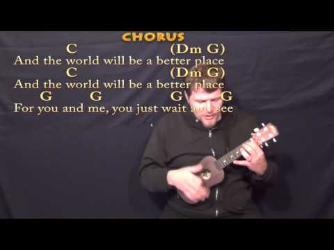 The Little Drummer Boy Ukulele Cover Lesson In C With Chords Lyrics