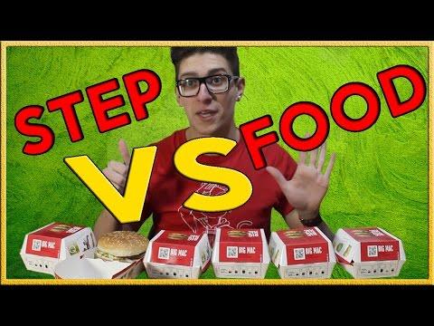 ST3P VS FOOD - 6 BIG MAC , 3500 Kcal