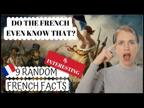 RANDOM FRENCH FACTS YOU PROBABLY DON'T KNOW | Do the French even know these fun French trivia?!