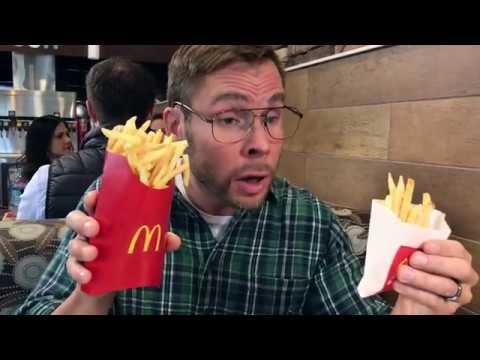 Dad at McDonald's