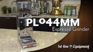 Lelit PL044MM Espresso Grinder