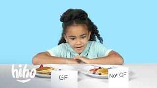 Kids Try Challenge: Gluten-Free vs Gluten | Kids Try | HiHo Kids