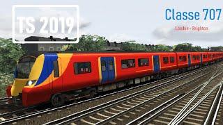 Train Simulator 2019 London  - Brighton Class 707 Desiro