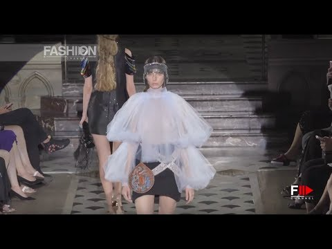 LIU CHAO Fall 2018 Haute Couture Paris - Fashion Channel