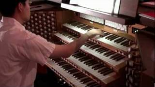 "G. Verdi Opera - Aida ""The Grand March"" - John Hong - Organ Transcription - 5.1 Dolby"