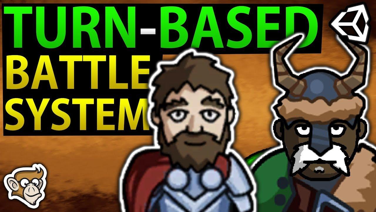 Simple Turn-Based RPG Battle System (Unity Tutorial)