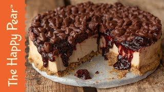 Black Forrest Cheesecake with Waitrose #VEGAN #AD