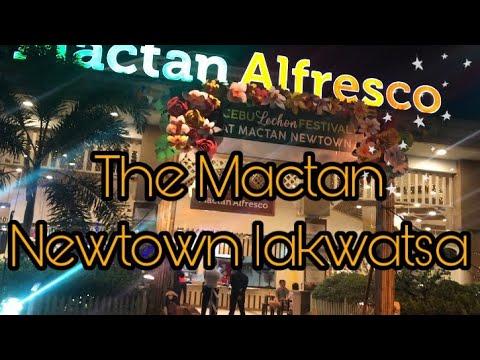 The Mactan Newtown At Night | Lapu-lapu City Cebu Walk Tour | Vlog #08