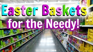 Getting EASTER BASKETS For NEEDY FAMILIES!! | BLENDED ABODE