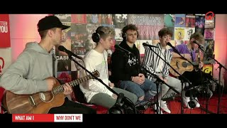 WHAT AM I   WHY DON'T WE LIVE ON DUTCH RADIO