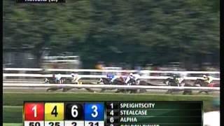 2012 Travers Stakes - Alpha & Golden Ticket **DEAD-HEAT**