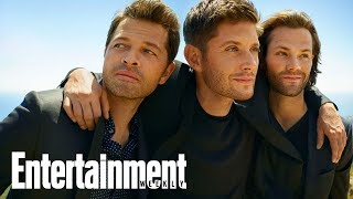 Сверхъестественное, Take A Look At The Behind The Scenes Of Our 'Supernatural' Cover Shoot | Entertainment Weekly