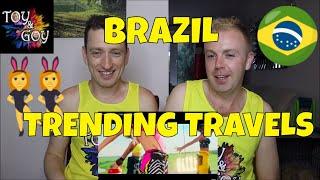 Luísa Sonza, Pabllo Vittar   Garupa   Reaction   Trending Travels   Brazil
