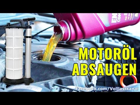 ÖLWECHSEL OHNE RISIKO: Öl Absaugen - Schnell/Sauber/Einfach? / Top Side Oil Change 1.9 TDI VW Golf V
