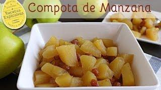 Como hacer Compota de Manzana sin Canela