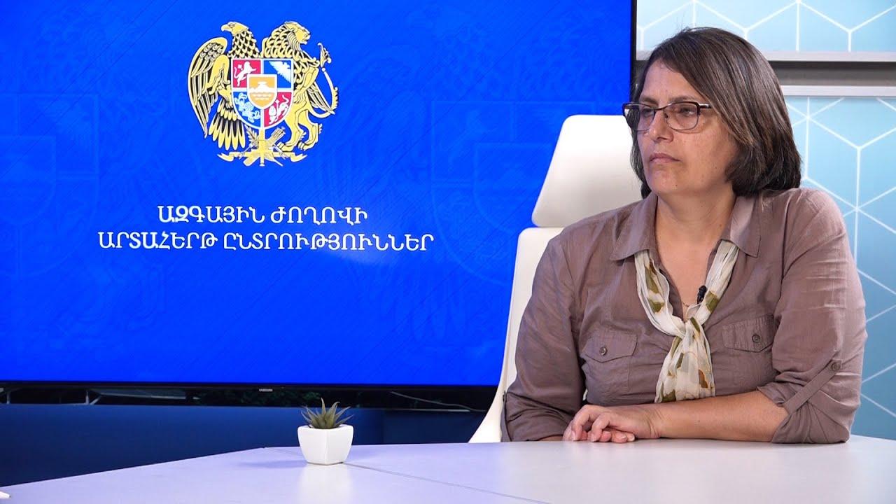 Հայաստանում վախի մթնոլորտ կա․ Կարին Տոնոյան