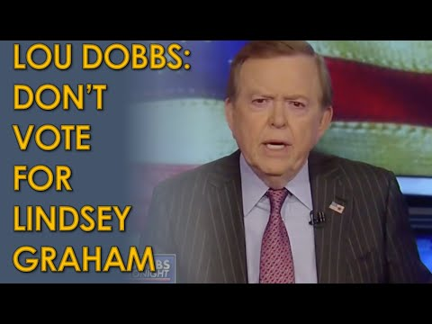 Lou Dobbs Tells Fox News Audience NOT to Vote for Lindsey Graham