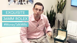 Exquisite 36mm Rolex