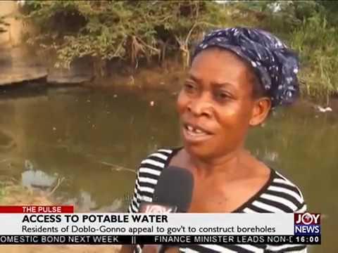 Access to Potable Water - The Pulse on JoyNews (9-4-18)