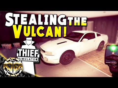 STEALING THE VULCAN AND CAR PARTS : Thief Simulator Gameplay : EP 8