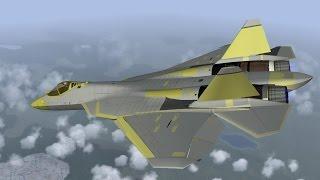 Т-50 пятого поколения - ответ России на F-22 Raptor - Оружие России