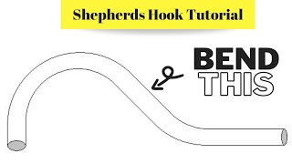 Electrical Conduit Bending Tutorial: Shepherds Hook