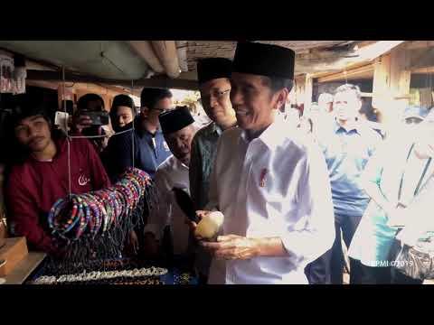 Presiden Jokowi Mengunjungi Dusun Sade, Lombok Tengah, 17 Mei 2019