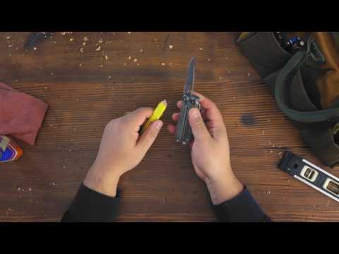 Leatherman WAVE+ - multifogó + tok videó