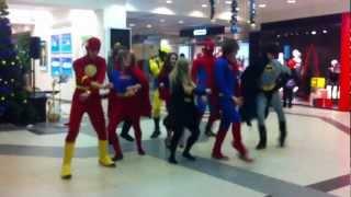 Супергерои отжигают!