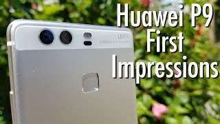 Huawei P9 Unboxing & First Impressions: Dual Leica Cameras!