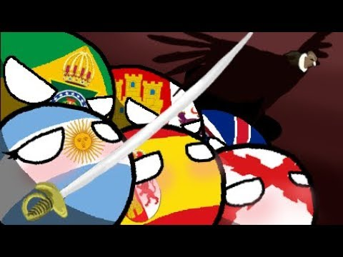 Polandball animated - An Argentine tango