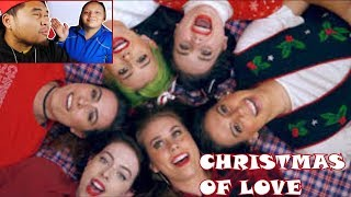 Cimorelli - Christmas of Love | COUPLES REACTION