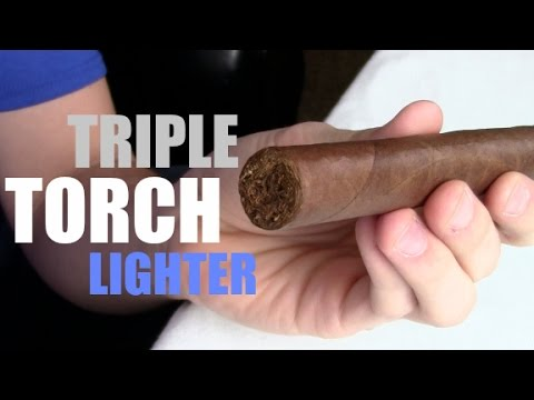 How to use a TORCH Lighter! | Cigar 101