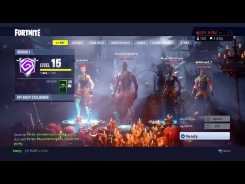 3 girls, 1 slug. Late night laggy Fortnite