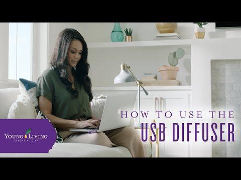 Cách sử dụng Bộ khuếch tán USB của Cuộc sống trẻ