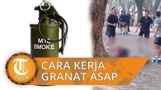 Ledakan di Monas Bukan Berasal dari HP atau Bom, Begini Bentuk Granat Asap yang Lukai 2 Orang TNI
