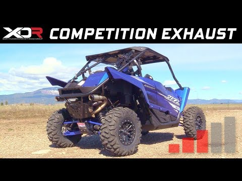 2016-19 Yamaha YXZ1000R - XDR Off-Road Competition Dual Exhaust System 7704