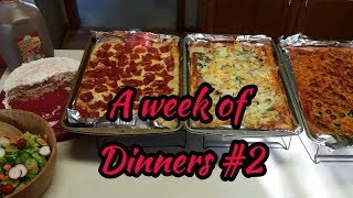 A week of dinners #2🤗🤗🤗