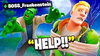 I Pretended To Be BOSS Frankenstein.. (Fortnite)