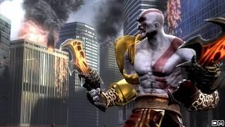 Mortal Kombat IX Kratos & Freddy Krueger Performs All Character Intros