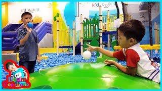 น้องบีม   เล่นสวนสนุก Kidzoona เดอะมอลล์บางแค