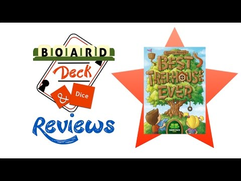 Board, Deck & Dice Review #58 - Best Treehouse Ever