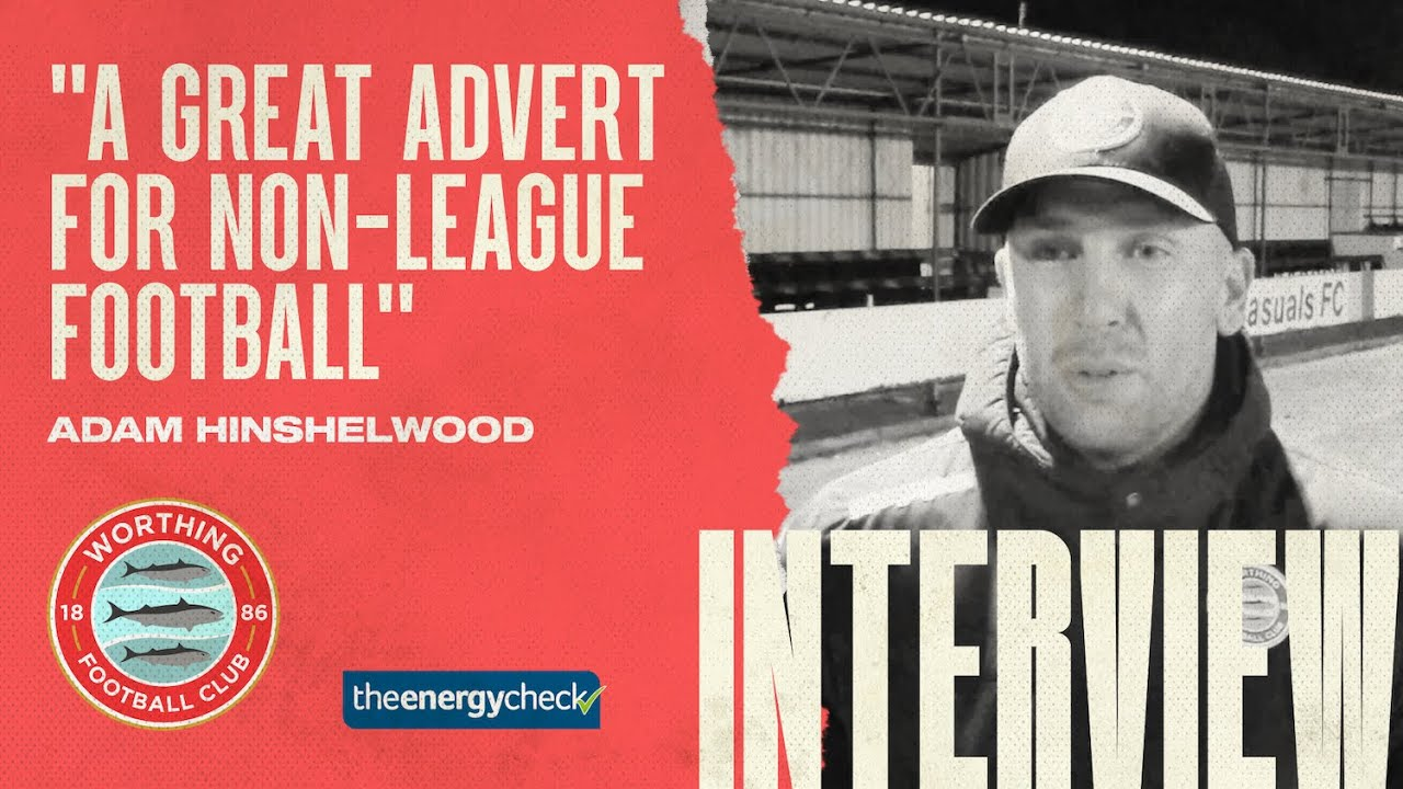 "Thumbnail for Hinshelwood: ""A great advert for non-league football"""