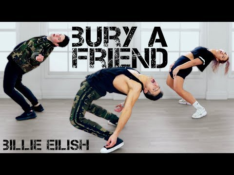 Bury A Friend - Billie Eilish | Caleb Marshall | Dance Workout - The Fitness Marshall